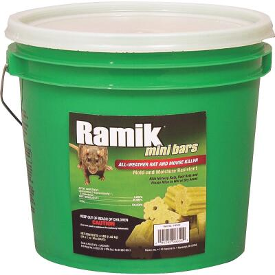 Ramik Bar Rat And Mouse Poison (64 per Pail)