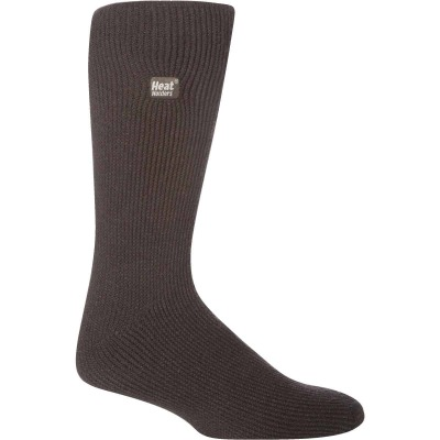 Heat Holders Men's 7 to 12 Charcoal Thermal Sock