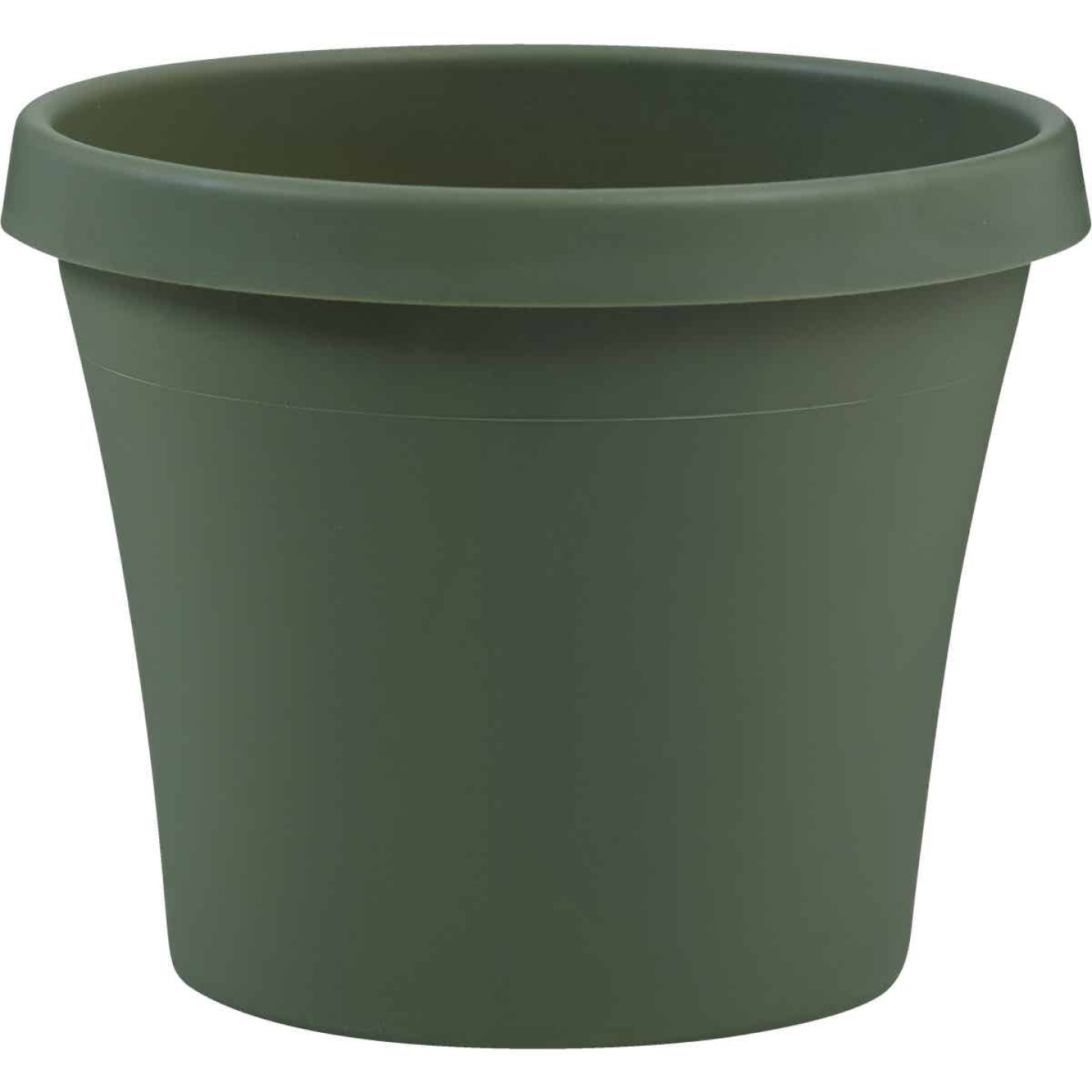 Bloem Terra Living Green 17 In. H. x 20 In. Dia. Polypropylene Planter Image 1