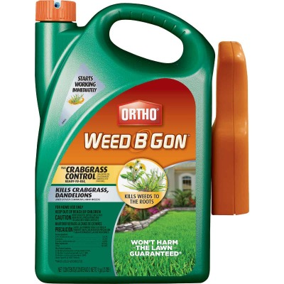 Ortho Weed B Gon 1 Gal. Ready To Use Trigger Spray Crabgrass & Weed Killer