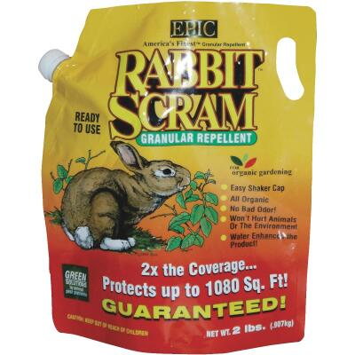 Rabbit Scram 2 Lb. Granular Organic Rabbit Repellent