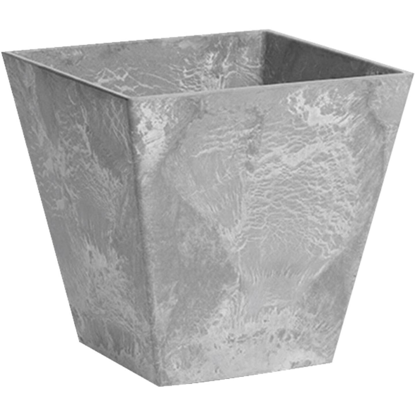 Novelty ArtStone Ella 10 In. W. x 9.75 In. H. x 10 In. L. Gray Resin Planter Image 1