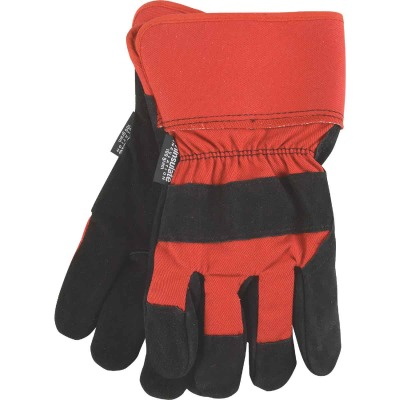 Do it Best Men's Medium Leather Winter Work Glove