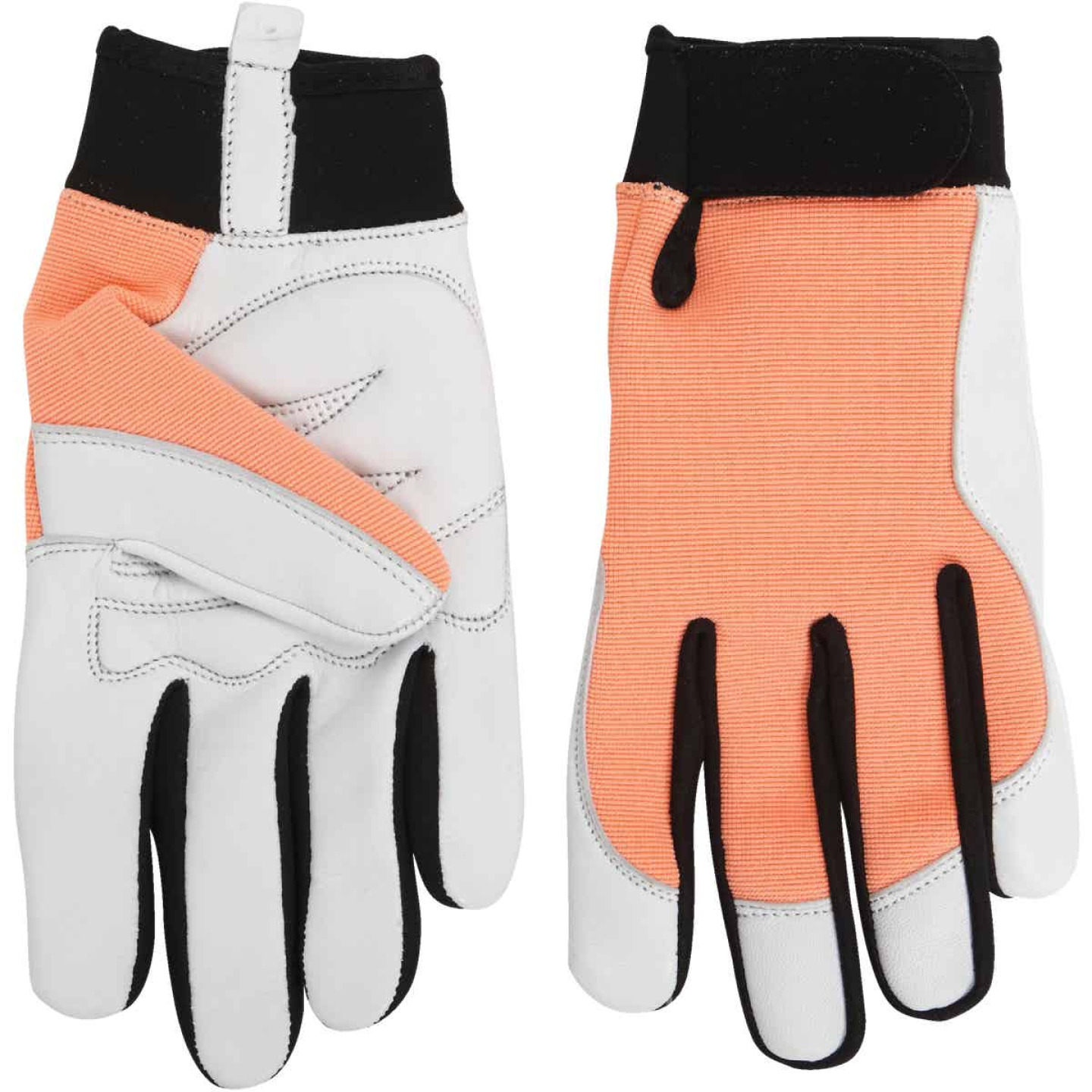 Midwest Gloves & Gear Women's Medium Goatskin Leather Work Glove Image 3