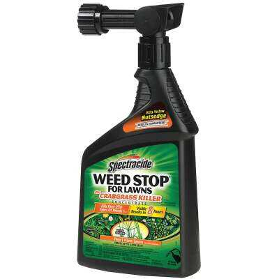 Spectracide Weed Stop 32 Oz. Ready To Spray Crabgrass & Weed Killer