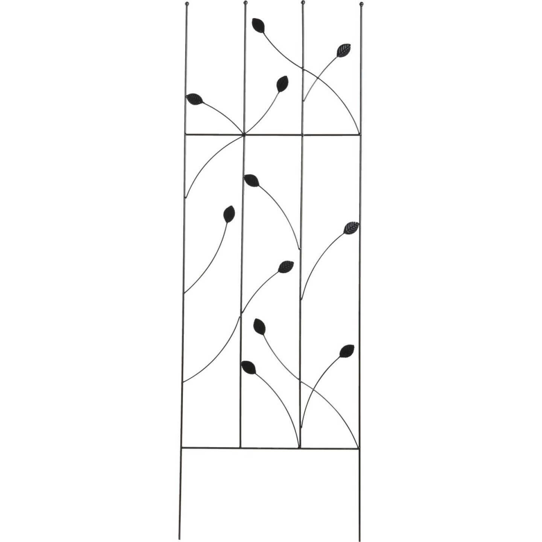 Best Garden Metal Ladder Black Trellis Image 1