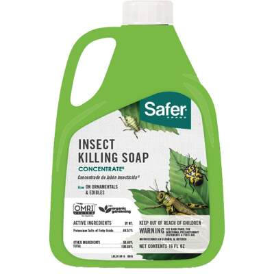 Safer 16 Oz. Concentrate Insecticidal Soap Insect Killer