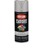 Krylon Fusion All-In-One Metallic Spray Paint & Primer, Silver Image 1