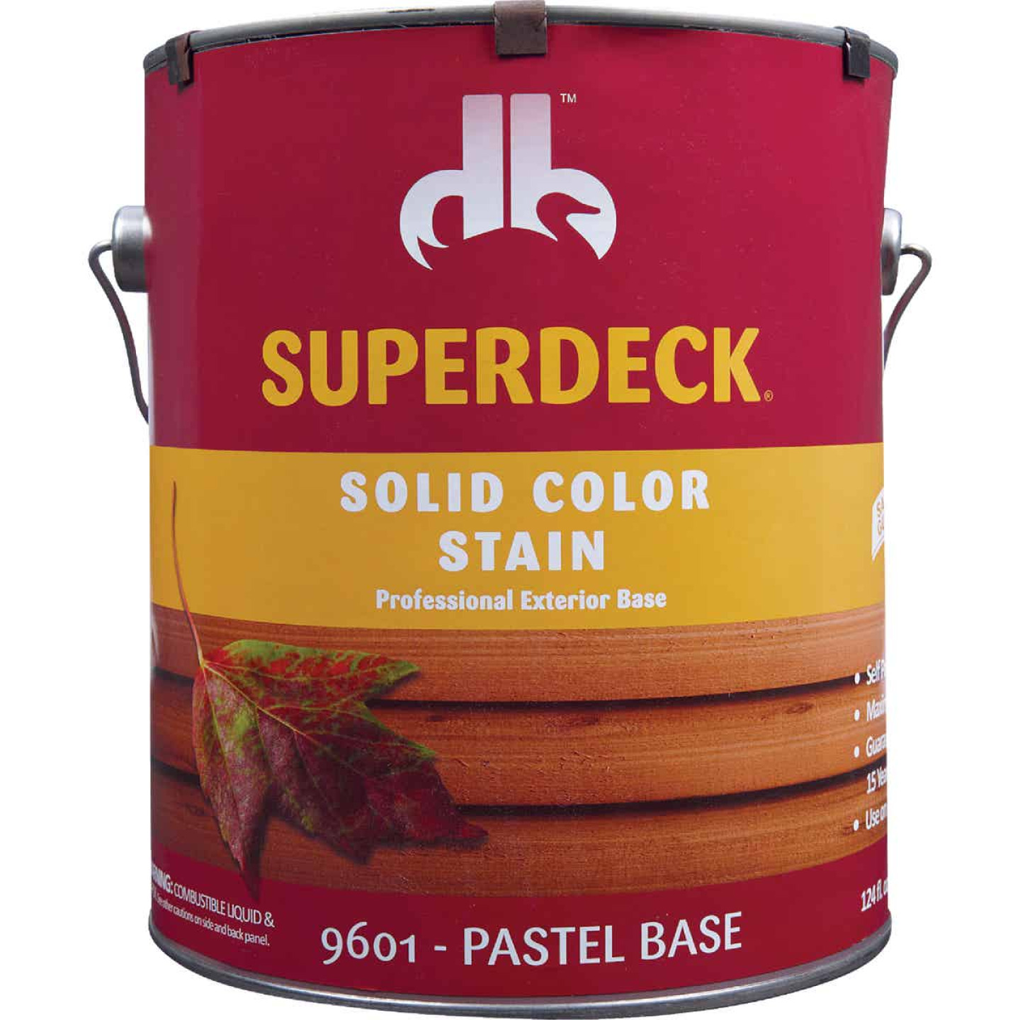 Duckback SUPERDECK Self Priming Solid Color Stain, Pastel Base, 1 Gal Image 2