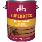 Duckback SUPERDECK Self Priming Solid Color Stain, Pastel Base, 1 Gal Image 1