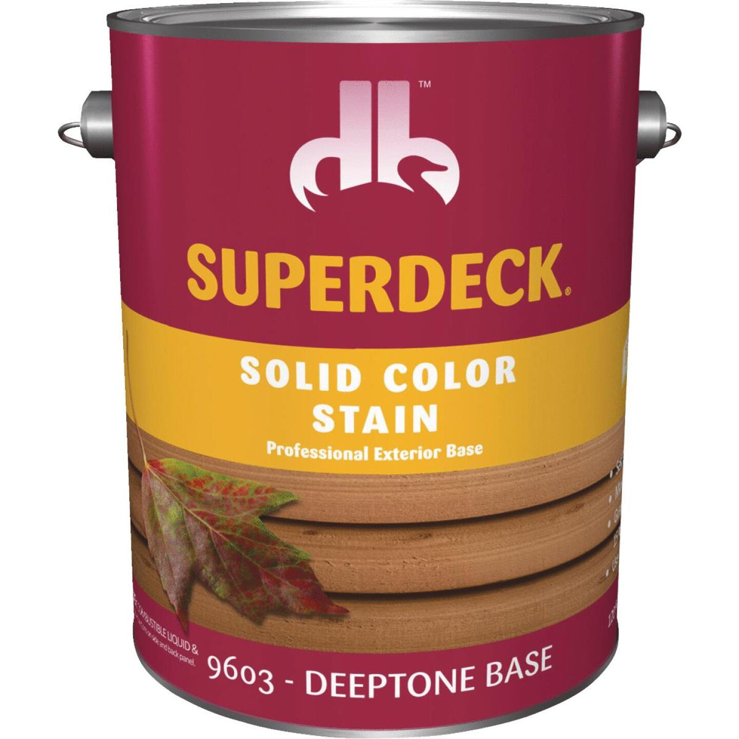 Duckback SUPERDECK Self Priming Solid Color Stain, Deeptone Base, 1 Gal Image 1