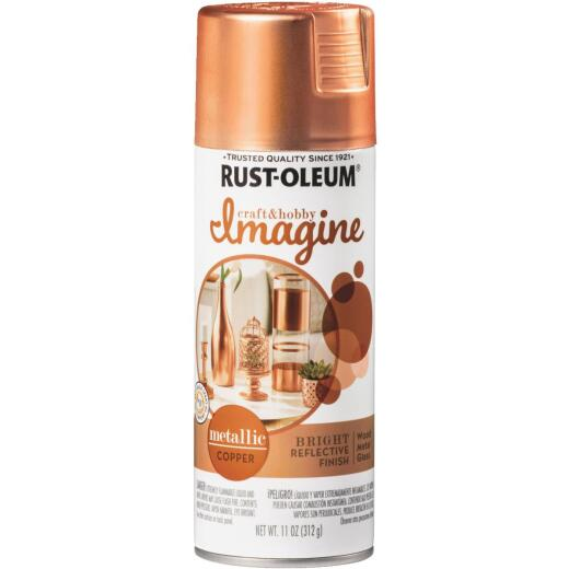Rust-Oleum 11 Oz. Copper Imagine Metallic Spray Paint