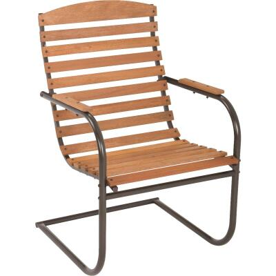 Country Garden Natural Hardwood Spring Chair