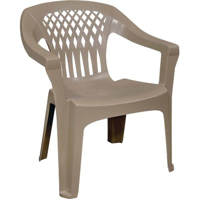 Adams Big Easy Portobello Resin Stackable Chair