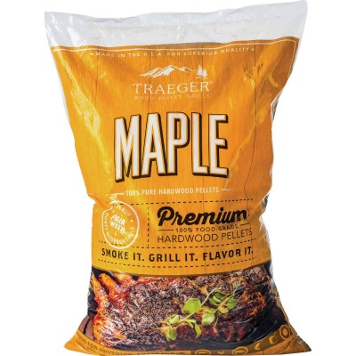 Traeger 20 Lb. Maple Wood Pellet