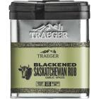 Traeger 8 Oz. Garlic & Signature Spices Flavor Game, Beef, Poultry & Seafood Blackened Saskatchewan Rub Image 1