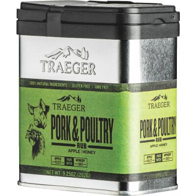Traeger 9.25 Oz. Apple & Honey Flavor Pork & Poultry Rub