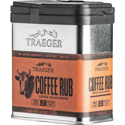 Traeger 8.25 Oz. Coffee & Black Pepper Flavor Beef Rub