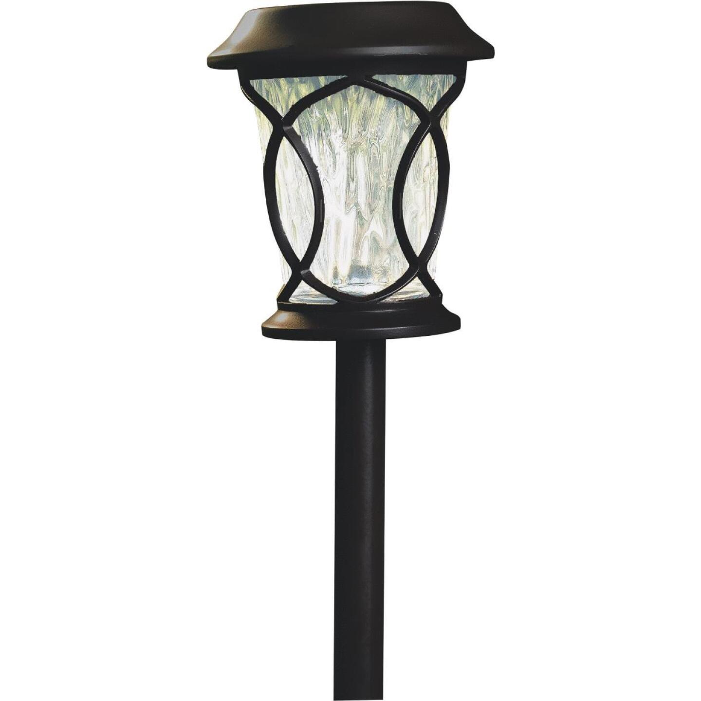 Moonrays Bronze 3 Lumens Plastic Solar Path Light Image 1