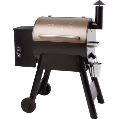 Traeger Pro Series 22 Bronze 20,000-BTU 572 Sq. In. Wood Pellet Grill