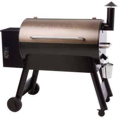 Traeger Pro Series 34 Bronze 36,000-BTU 884 Sq. In. Wood Pellet Grill