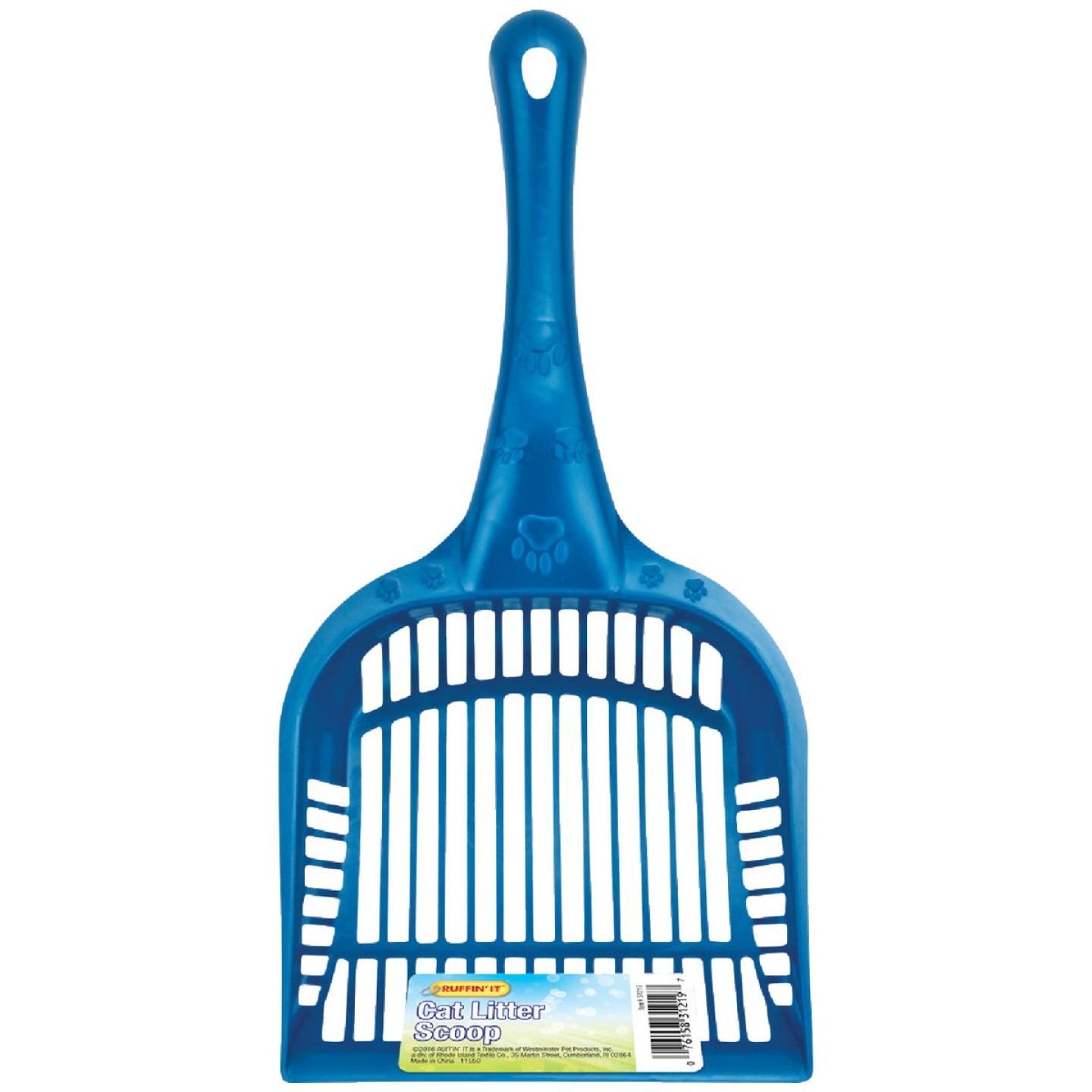 Westminster Pet Ruffin' Plastic Jumbo Cat Litter Scoop Image 1