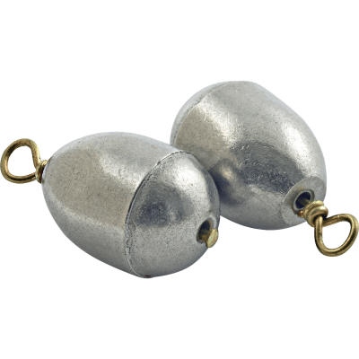 SouthBend Size 9 3/16 Oz. Lead-Free Dipsey Sinker (2-Pack)