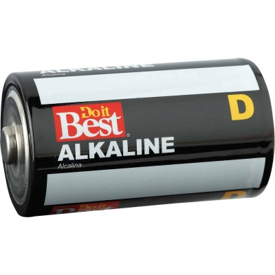 Do it Best D Alkaline Battery (4-Pack)