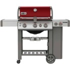 Weber Genesis II SE-330 3-Burner Crimson 39,000 BTU LP Gas Grill with 12,000 BTU Side -Burner Image 1