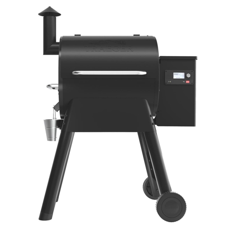 Traeger Pro 575 Black 36,000 BTU 572 Sq. In. Wood Pellet Grill Image 3