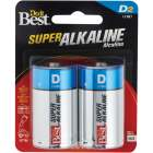 Do it Best D Alkaline Battery (2-Pack) Image 1