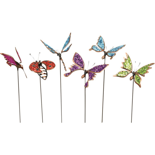 Mission Gallery 20.47 In. H. Metal Flying Friends Garden Stake