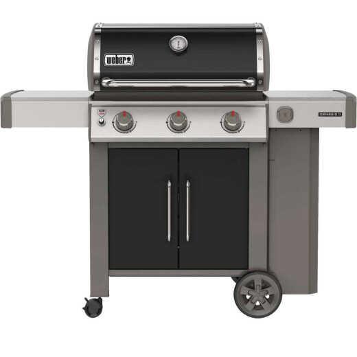 Weber Genesis II E-315 3-Burner Black 39,000 BTU LP Gas Grill