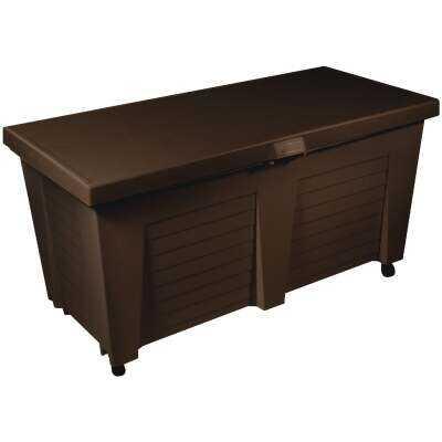 Gracious Living 65.5 Gal. Resin Earth Deck Box