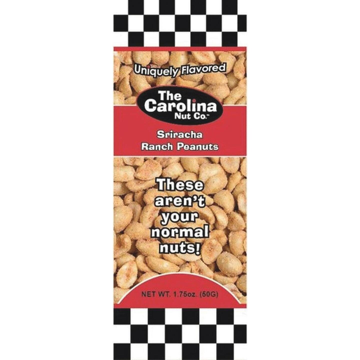 The Carolina Nut Company 1.75 Oz. Sriracha Ranch Peanuts Image 1